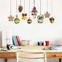 Χαμηλού Κόστους Christmas Stickers-Διακοσμητικά αυτοκόλλητα τοίχου - Αεροπλάνα Αυτοκόλλητα Τοίχου / Διακοπών Αυτοκόλλητα Τοίχου Σχήματα / Χριστούγεννα Σαλόνι / Υπνοδωμάτιο / Κουζίνα