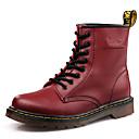 Χαμηλού Κόστους Αντρικές Μπότες-Ανδρικά Fashion Boots PU Χειμώνας Καθημερινό / Βρετανικό Μπότες Πεζοπορία / Περπάτημα Μη ολίσθηση Μποτίνια Μαύρο / Σκούρο καφέ / Μπορντώ