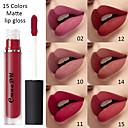 billige Lipgloss-cmaadu sexy 15 farger flytende leppestift matt fløyel lipgloss leppeglasur vanntett varig leppemake-up kosmetikk