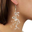 povoljno Naušnice-Žene Naušnica Geometrijski vjerovati Naušnice Jewelry Bež / bijelo Za Dnevno 2pcs