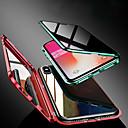 billige iPhone-etuier-etui til apple iphone xs / iphone xr / iphone xs max / 7 8plus / 7 8 / 6splus / 6s / 6 gjennomsiktig / magnetisk kropp med store farger herdet glass