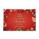Χαμηλού Κόστους Μοτοσυκλέτα & Εξαρτήματα ATV-Κινούμενα σχέδια πολυεστερικές ίνες Τετράγωνο Σουπλά Διακοπών Χριστούγεννα Επιτραπέζια διακοσμητικά