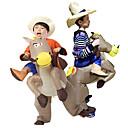 Χαμηλού Κόστους Κούκλες-Ταξιδεύοντας ένα γαϊδουράκι Στολές Ηρώων Αντικείμενα για Χάλοουιν Φουσκωτή στολή Στολές Ηρώων Ταινιών Halloween Πορτοκαλί / Μπλε Φορμάκι / Ολόσωμη φόρμα Φυσητήρας Halloween Νέος Χρόνος Πολυεστέρας