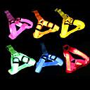 olcso Nyakörvek és pórázok-Kutya Hevederek LED fények Állítható / Behúzható Egyszínű Műanyag Zöld Kék Rózsaszín