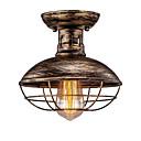 Χαμηλού Κόστους Κολλητήρι & Αξεσουάρ-JSGYlights Φανάρι / Mini / Βιομηχανικός Φωτιστικά Χωνευτής Εγκατάστασης Χωνευτό φωτιστικό οροφής Βαμμένα τελειώματα Μέταλλο Νεό Σχέδιο 110-120 V / 220-240 V