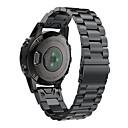 baratos Interruptor Inteligente-Pulseira smartwatch para fenix6s / fenix6s pro garmin fivela clássica pulseira de aço inoxidável