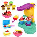 baratos Arrumação e Organização-Plasticina Criativo Adorável Fabricado à Mão PP+ABS Crianças Adolescente Todos Brinquedos Dom 5 pcs