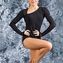 olcso Latin ruha-Latin tánc Akrobatatrikó Női Edzés Tüll Ráncolt Akrobatatrikó / Egyrészes