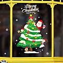 Χαμηλού Κόστους Christmas Stickers-Window Film & αυτοκόλλητα Διακόσμηση Κινούμενα σχέδια / Χριστούγεννα Διακοπών / Χαρακτήρας PVC Αυτοκόλλητο παραθύρου / Λατρευτός