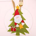 billiga Håraccessoarer-juldekoration Jul Icke-vävt Mini Tecknat Juldekoration