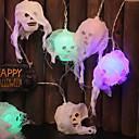 baratos Luzes de Bicicleta & Refletores-Led halloween luz corda fantasma festival taro cabeça luz corda decoração de interiores