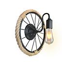 billige Vegglamper-Nytt Design Land Vegglamper Entré / butikker / cafeer Hemp Rope Vegglampe 110-120V / 220-240V 40 W