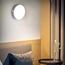 baratos Faixas de Luzes LED-BRELONG® 1pç Luzes de Presença Branco Quente + Branco USB Recarregável / Fácil de Transportar / Sensor do corpo humano 5 V