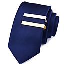 baratos Roupas de Mergulho & Camisas de Proteção-Homens Prendedores de gravatas Estiloso Cobre Formal / Roupa Diária Prendedor de Gravada