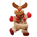 ราคาถูก ของตกแต่งวันคริสต์มาส-คริสต์มาสแขวนตกแต่งคริสต์มาสต้นไม้หิมะเครื่องประดับแขวนของขวัญซานตาคลอสกวางกวางเรนเดียแขวนตกแต่ง