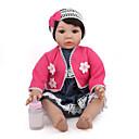 Χαμηλού Κόστους Εκτυπώσεις-NPK DOLL Κούκλες σαν αληθινές Αναγεννημένη κούκλα για μικρά παιδιά Μωρά Αγόρια Μωρά Κορίτσια 20 inch Ασφάλεια Δώρο Χαριτωμένο Παιδικά Γιούνισεξ / Κοριτσίστικα Παιχνίδια Δώρο