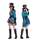 Χαμηλού Κόστους Κοστούμια για Ενήλικες-Παραμυθιού Στολές Ηρώων Γυναικεία Halloween Απόκριες Νέος Χρόνος Γιορτές / Διακοπές Τερυλίνη Γυναικεία Αποκριάτικα Κοστούμια Patchwork / Γάντια / Καλύμματα Κεφαλής
