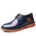 זול נעלי בד ומוקסינים לגברים-בגדי ריקוד גברים נעליים פורמליות עור סתיו חורף עסקים / קלסי נעלי אוקספורד נושם שחור / חום / כחול