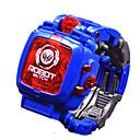 ราคาถูก ดาราศาสตร์ของเล่นและโมเดล-นาฬิกาของเล่น แปลกใหม่ Robot transformable เด็กผู้ชาย เด็กผู้หญิง 1 pcs ชิ้น Plastics Toy ของขวัญ