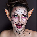 Χαμηλού Κόστους Προμήθειες Πάρτι Halloween-1 ζευγάρια αποκριές λατέξ αυτιά elf cosplay μάσκες νεράιδα goblin φύση χρώμα