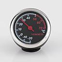 זול מדי לחץ אוויר לצמיגים-מד לחות לרכב מד שעון לחות קוורץ עמיד בפני טמפרטורה גבוהה / נמוכה