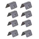 billige Smartbrytere-8 stk i kanal vind / regn deflektorer passende klipsutskiftning for heko g3 klipp x4 varer per pakke8stk
