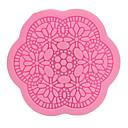 billige Wall Tapestries-klassiske pene diy blonder blomster mønstre rundt fondant silikon mold kake dekorere verktøy