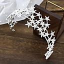 billiga Jewelry Set-Legering med Kristall / Strass / Stjärna 1 st. Bröllop Hårbonad