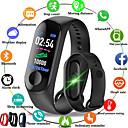 billige Smart armbånd-m3 smart sports armbånd fitness tracker med hjertefrekvensmåler bluetooth vanntett pedometer for android ios