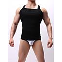 povoljno Torbe preko ramena-Muškarci Azijska veličina Sexy V izrez Potkošulja Jednobojni
