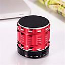 billige Kameralys, studio & tilbehør-mini metall Bluetooth høyttaler s28 stereo trådløs bærbar høyttaler super bass subwoofer med mikrofonstøtte tf-kort fm radio