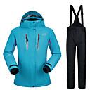 Χαμηλού Κόστους Μπότες πεζοπορίας στο χιόνι-MUTUSNOW Γυναικεία Μπουφάν και παντελόνι για σκι Σκι Σνόουμπορτινγκ Χειμερινά Αθήματα Αδιάβροχη Αντιανεμικό Ζεστό Πολυεστέρας Ρούχα σύνολα Ενδυμασία σκι / Χειμώνας