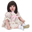 Χαμηλού Κόστους Εκτυπώσεις-NPK DOLL Κούκλες σαν αληθινές Αναγεννημένη κούκλα για μικρά παιδιά Μωρά Αγόρια Μωρά Κορίτσια 22 inch Ασφάλεια Δώρο Χαριτωμένο Παιδικά Γιούνισεξ / Κοριτσίστικα Παιχνίδια Δώρο