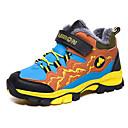 זול מגפיים לילדים-בנים / בנות נוחות / מגפי שלג עור נעלי אתלטיקה ילדים קטנים (4-7) / ילדים גדולים (7 שנים +) טיפוס / הליכה צהוב / ירוק / כחול חורף / גומי
