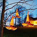 billige Matter og tepper-1 stk natt lys oransje halloween trollhatt med spiss hette med led lys anheng parti cosplay heks hat fancy dress forsyninger fest hat