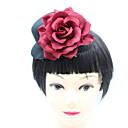 povoljno Party pokrivala za glavu-Ostali materijal / Kompozitni materijali / Platno Cvijeće / Šeširi s Cvjetni print / Trim 1 komad Special Occasion / Zabava / večer Glava
