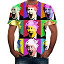 billiga Triathlon-kläder-Stående T-shirt - Grundläggande Herr Regnbåge