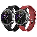 baratos Produtos Anti-Stress-pulseira de pulseira de relógio de silicone de esporte para garmin vivoactive 3 / vivomove hr / forerunner 645 / forerunner 245 / 245m / vivomove pulseira pulseira substituível