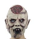 billige Negleklistremerker-1 stk latex halloween maske skjelett terrorist ansiktsmaske som beveger latexhodet eksploderer hjernen