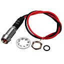 저렴한 자동차 인테리어등-1 개 8 미리 메터 12 볼트 황색 LED 표시 등 파일럿 방향 대시 보드 램프 자동차 트럭 보트