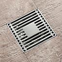 baratos Tranças de Cabelo-Ralo Novo Design Moderna Aço Inoxidável 1pç - Banheiro Montagem de Chão