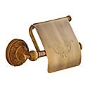Χαμηλού Κόστους Θήκη Βούρτσας Τουαλέτας-Βάση για χαρτί τουαλέτας Δημιουργικό Πεπαλαιωμένο / Παραδοσιακό Ορείχαλκος Μπάνιο Επιτοίχιες