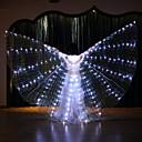 Χαμηλού Κόστους Αξεσουάρ Χορού-Αξεσουάρ Χορού Φτερά Ίσιδας Γυναικεία Επίδοση Τερυλίνη LED