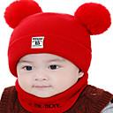 Χαμηλού Κόστους Παιδικά Καπέλα-Παιδιά / Νήπιο Αγορίστικα / Κοριτσίστικα Ενεργό / Βασικό / Γλυκός Μονόχρωμο / Numbăr Κομψό / Πλέξιμο Βαμβάκι / Ρωμαϊκό Πλεκτό Καπέλα Ανθισμένο Ροζ / Κίτρινο / Θαλασσί Ένα Μέγεθος