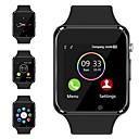 baratos Peças & Acessórios para Radiomodelismo-a1 relógio de pulso bluetooth relógio inteligente pedômetro esporte com câmera sim câmera inteligente para smartphone Android