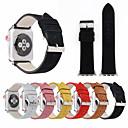 billige Verktøysett-44mm / 42mm / 40mm / 38mm matt legg stropp håndledsbånd med sikker spenne i metall som er kompatibel for apple watch-serien