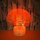 Χαμηλού Κόστους 3D φώτα τη νύχτα-1pc usb power αφηρημένη τέχνη 3d φώτα πολύχρωμη πινελιά κλίσης νύχτα φώτα πολύχρωμα 3D ακρυλικό πίνακα