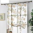billiga Genomskinliga gardiner-rena gardiner för sovrum vardagsrum tatami dekoration stora pion romerska gardin fyrfönster ljus gardin