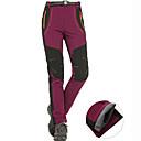 ราคาถูก กางเกงปีนเขาและกางเกงขาสั้น-สำหรับผู้หญิง Hiking Pants Softshell Pants ลายต่อ กลางแจ้ง กันน้ำ Lightweight กันลม ผ้าซับในขนสัตว์ ฤดูหนาว ซอฟท์เซล ด้านล่าง การเดินเขา การปีนหน้าผา แคมป์ปิ้ง สีม่วง ส้ม อาร์มี่ กรีน S M L XL XXL