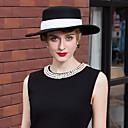 Χαμηλού Κόστους Πιστόλια Κόλλας-100% Μαλλί Καπέλα με Κορδόνια 1pc Causal / Καθημερινά Ρούχα Headpiece